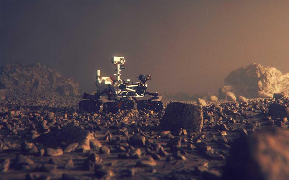 Winlight System's optics are now on Mars